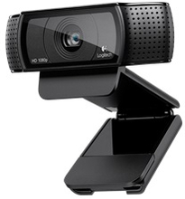 Logitech C920 HD Pro Webcam USB - Sort