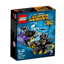 LEGO Super Heroes MightyMicros: Batman™ mod Catwoman™ 76061 - wupti.com