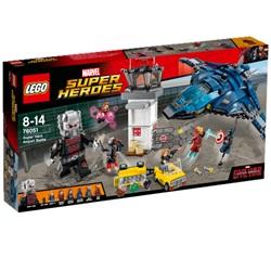 LEGO Super Heroes Superheltenes kamp i lufthavnen 76051 - wupti.com