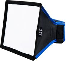 JJC Rektangulär Softbox [universal för de flesta bärbara blixtenheter] (Small)