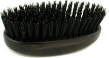 Acca Kappa Military Style Hair Brush - Black (Length 13cm)