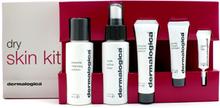 Dermalogica Dry Skin Kit: Cleanser 50ml + Toner 50ml + Moist. Balance 22ml + Exfoliant 10ml + Eye Repair 4ml + 2 Samples
