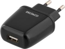 Deltaco USB-adapter 5V 2.4A Svart