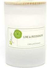 Miljövänligt Doftljus Lime & Petitgrain, Litet (ca. 100 g)