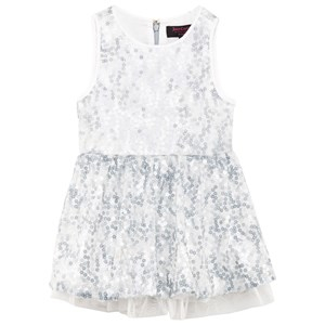 Juicy Couture Sequin Party Klänning Ice Blue 6-7 years