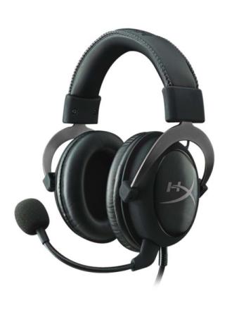 HyperX Cloud II Headset - Gun Metal - Czarny