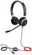 Evolve 40 MS Stereo - Svart