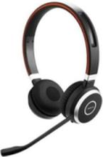 Evolve 65 MS stereo - headset - med LIN - Svart