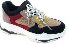 Happy Shoes Innovate Chunky Sneakers, svart/multi