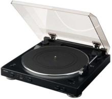 DP-200USB - Black Platespiller - Svart