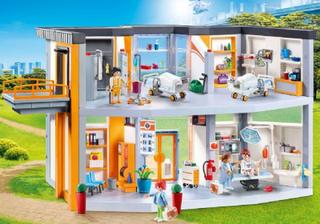 Stort sykehus med møbler - Playmobil City Life 70190