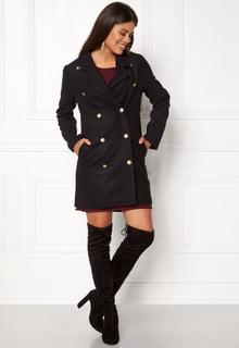 Rut & Circle Nor Button Coat Black S
