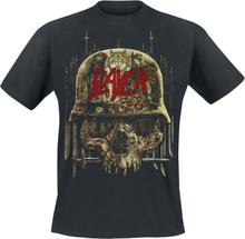 Slayer - Skull Collage -T-skjorte - svart