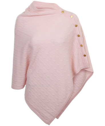 Poncho Cable with buttons