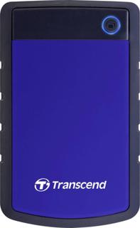 Transcend StoreJet 25H3 Ekstern harddisk 6,35 cm (2,5) 4 TB Blå USB 3.1