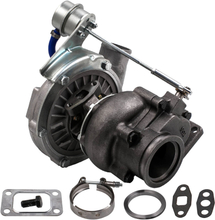 Universal Turbo Turbocharger T3 T4 T04E trim 73 44 V-band Oil cool 2.0-3.5L