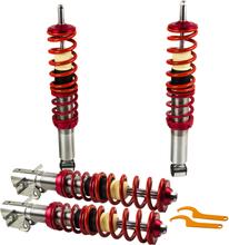 Compatible for VW GOLF MK1 16V ADJUSTABLE SUSPENSION Lowering Strut Kit COILOVER
