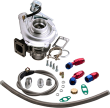T3 T4 T3t4 To4e T04e V-band 420hp Turbocharger 0.63 Ar Oil Inlet Outlet Line Kit