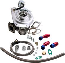 T3 T4 T3t4 To4e T04e V-band 420hp Turbocharger 0.63 Ar Oil Inlet Outlet Line Kit