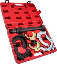 Interchangeable Fork Strut Coil Spring Compressor Extractor Tool Set Kit
