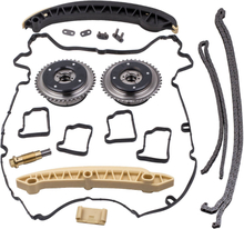 Compatible for Mercedes Benz M271 1.8 L Petrol Timing Chain Kit Incl VVT Camshaft Pulley