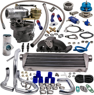 Turbocharger for Audi VW 1.8T K04-015 w/ intercooler manifold piping valve kits