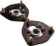 Compatible for Nissan S13 S14 180SX 200SX 240SX Front Coilover Camber Plate Top Mount x2 Pair