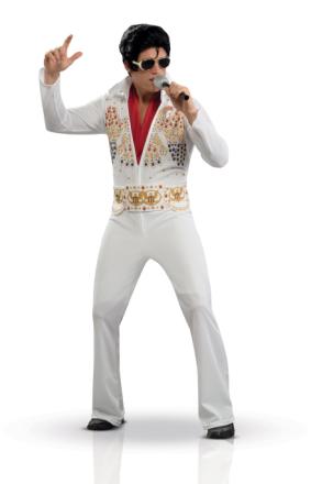 Maskeraddräkt Elvis Presley lyx vuxen Large (42)