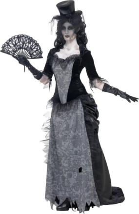 Spøgelseskvinde fra 1920'erne kostume voksen Halloween - Vegaoo.dk
