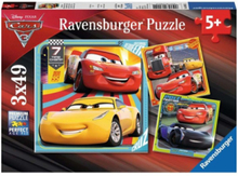 Disney Cars 3 Puzzle 3x49st.