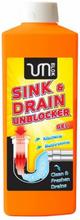 Unblock Waschbecken & Abfluss Reiniger Gel 1000 ml