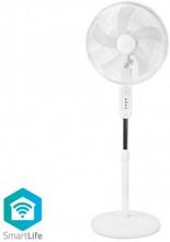 Smart Wi-Fi-fläkt stativ 16 tum 40 cm - vit