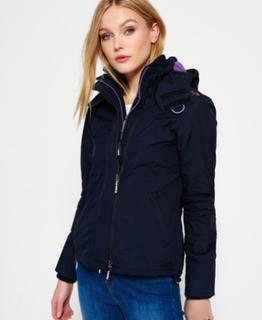 Superdry Superdry Pop Zip Arctic Windcheater jakke med hætte