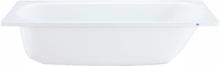 Ifö BK-PRO 1500 Badkar frontfritt, vitt, 165 l
