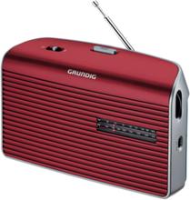 Bærbar radio Music 60 - AM/FM - Mono - Sølv