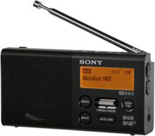 Bærbar radio XDR-P1DBP - DAB/DAB+/FM - Mono - Svart