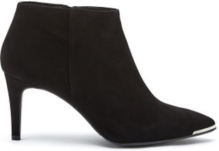 Billi Bi Black Suede High Booties Black 40