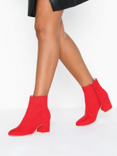 NLY Shoes Mid Heel Ankle Boot Heel