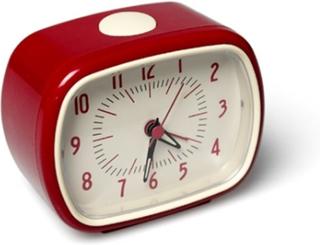 Väckarklocka Retro Röd