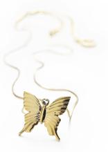 Halsband Butterfly 18 K Guld