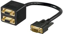 VGA split cable - 2 x VGA