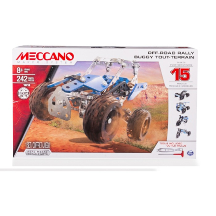 Meccano - 15 Model Set Off Road Rally