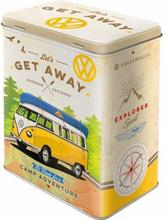 Plåtburk VW 'Let's Get Away!'