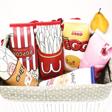 Pencil Bag South Korean Creative And Simple Snacks Small Fresh student children cute receive pencil case For Boys And Girls