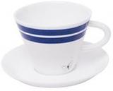 Månses Design Espressokopp med fat Blåvinge