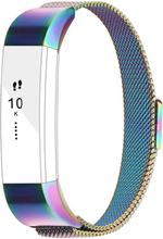 Fitbit Alta milanese stainless steel watch band - Multi-color