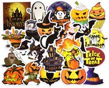 25PCS Happy Halloween Christmas Scrapbook Stationery Stickers Planner Calendar Agenda School Art Craft Supplies