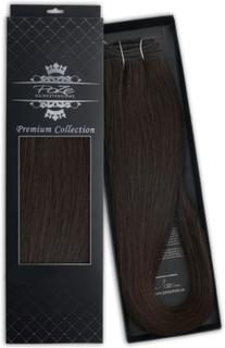 Poze Hairextensions Poze Hårträns Premium 1B Midnight Brown 50cm