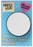 Dirty Works 10x Magnification Mirror 7,5cm