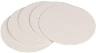 Glasunderlägg neutral vit 100-pack